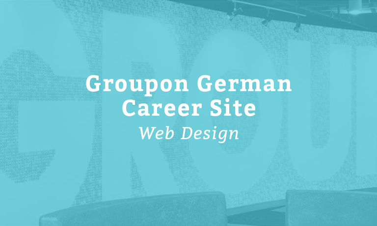 Groupon Career Site